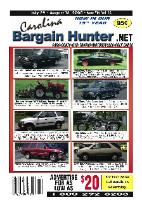This issue of Carolina Bargain Hunter